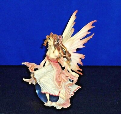 "Rare NENE THOMAS Dragonsite faerie Ltd Ed fairy figurine ornament ""Daybreak"