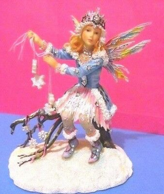 V.Rare Christine Haworth faerie/ fairy Ltd Ed figurine WINTER STARLIGHT Leonardo