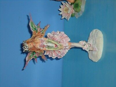 Rare Christine Haworth faerie/ fairy /angel whispers Ltd Ed figurine by Leonardo