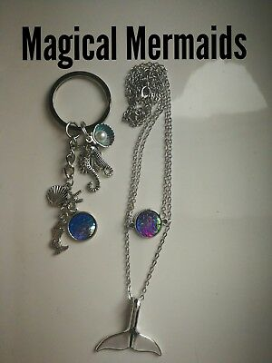 Code 389 Magical Mermaid Infused n charged Necklace keyring Mythical treasure