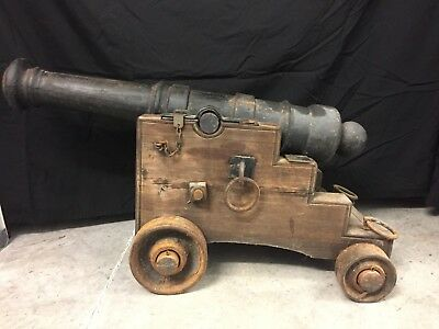 """civil War Cannon"" (Used In Centinnial Of The Civil War  53 - 61 Years Old)"