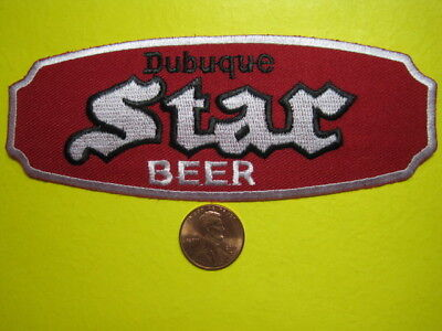 Beer Patch Star Beer  Dubuque Patch Look And Buy Now Great Embroidery