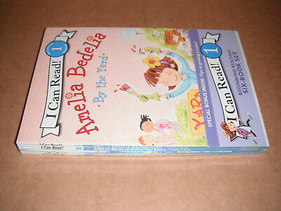 I Can Read Level 1 Amelia Bedelia Six Book Set NEW