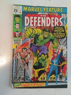 Marvel Feature #1-3, first appearance of the Defenders!