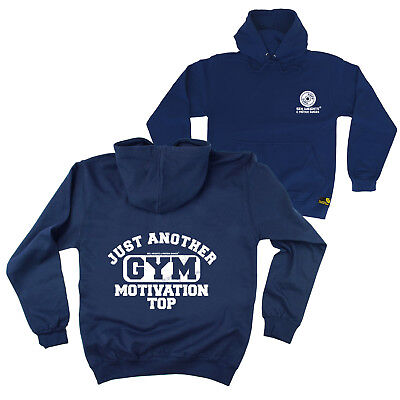 FB Gym Bodybuilding Hoodie Just Another Gym Motivational Top Hoody Jumper