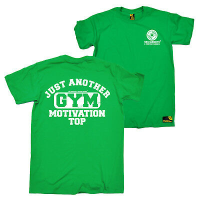 FB Gym Bodybuilding Tee Just Another Gym Motivational Top Novelty Mens T-Shirt