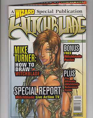 Witchblade Wizard Special with a copy of Fathom #0 & Witchblade Poster-Unopened.