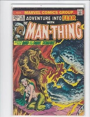 Adventure Into Fear #18 - Manthing - Fine