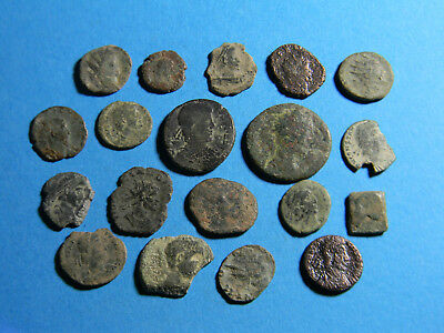 lot of (19) Ancient Roman Coins  (0313)