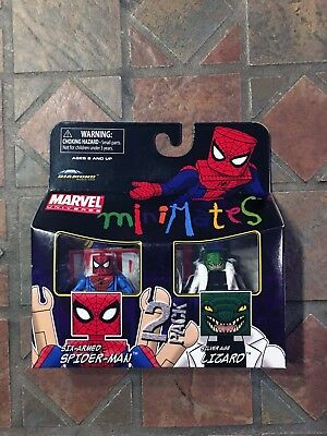 Marvel Minimates SILVER AGE LIZARD & SIX ARMED SPIDER-MAN Wave 37 Avengers
