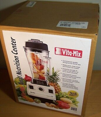 Vita-Mix VITAMIX 5000 Total Nutrition Center TNC VM0103 Blender  Factory Sealed!