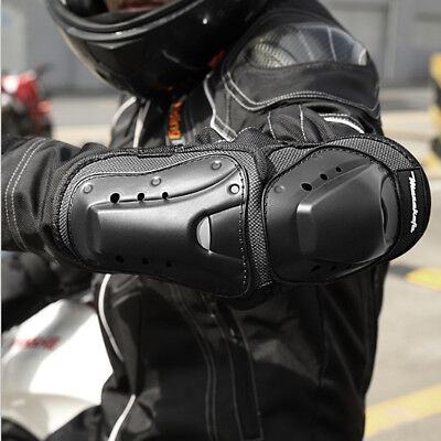 Heavy Duty Protection Knee Elbow Shin Pads Armour Guard Motorcycle Ski Gear