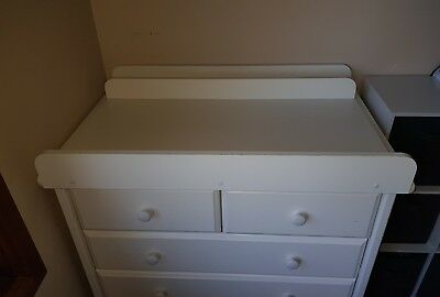 Change Table top Attachment for Chest Drawers