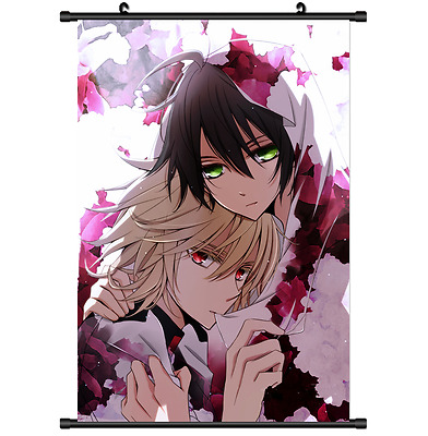 Anime Seraph of the end Owari no Seraph Wall Poster Scroll Home Decor 2672