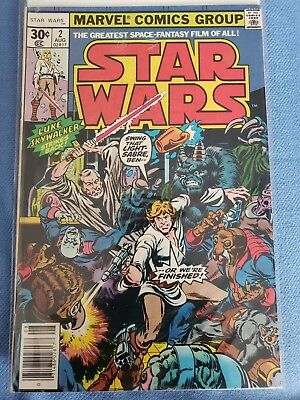 Star Wars #2 Bronze Age Rare Beauty