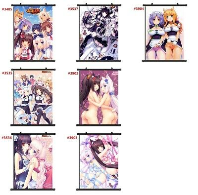 "Anime Nekopara manga Wall Scroll Poster cosplay8""x11"""