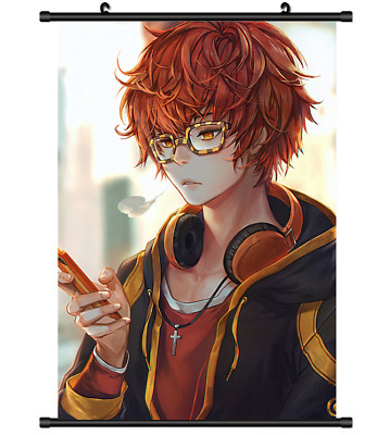 Home Decor Game Mystic Messenger 707/&Unknown Schnee Poster Wall Scroll