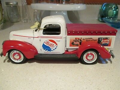Pepsi-Cola Ford Pickup Delivery Truck 1940 Diecast Metal Model Toy