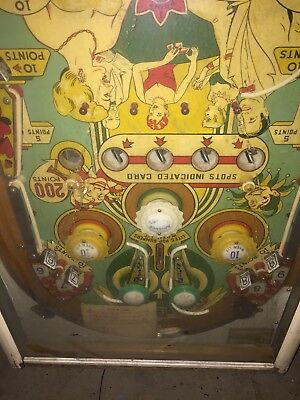 "1960 Gottlieb ""Spot A Card"" Pinball Machine"