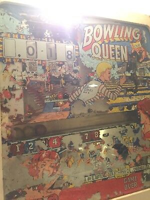 "1964 Gottlieb ""Bowling Queen"" pinball machine"