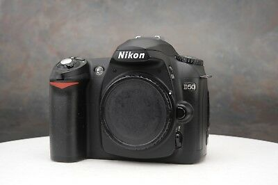 ~Nikon D50 Digital SLR Camera Body Black {6.1 M/P}