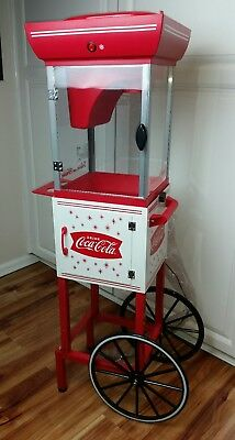 Snow Cone Cart Machine Sno Party Event Coca-Cola Officially Licensed Product