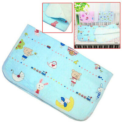 Portable Urine Mat Waterproof Baby Infant Bedding Changing Nappy Cover Pad New