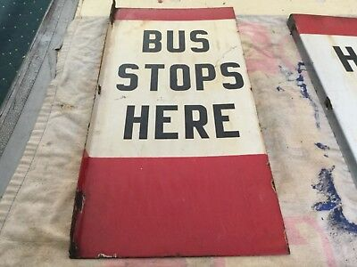 Victorian Bus Stop Signage