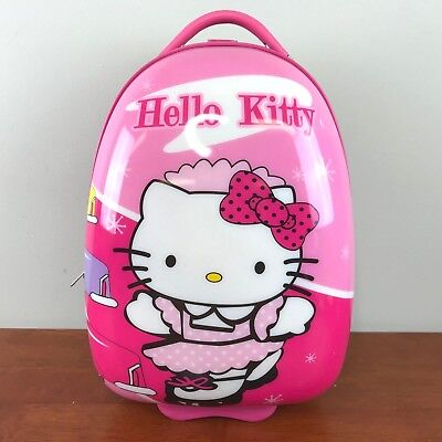 """Hello Kitty Kids Suitcase 20"""" Travel Trolley Rolling Luggage"""