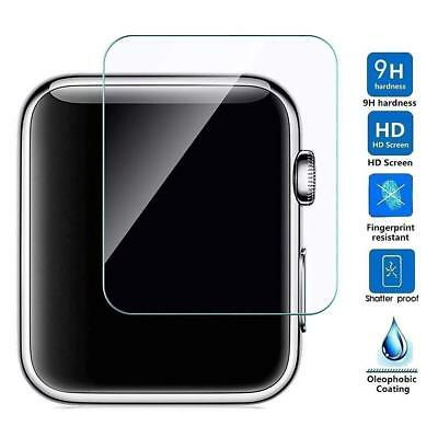 5 Pcs Tempered Glass Screen Protector Fits Apple Watch Series 4 - 40/42mm