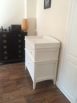 baby changing unit with cupboards and drawers