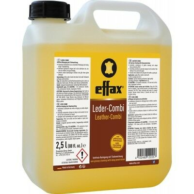 % TOP-ANGEBOT: Effax Leder Combi 2500 ml  2,5 l Kanister (€16,75/l) -NH