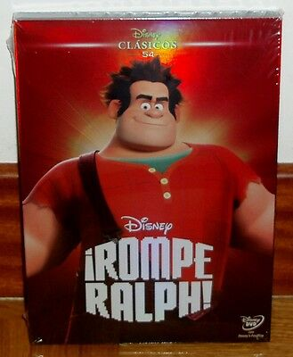 Rompe Ralph Dvd Disney Classic Nº 54 New Sealed Cover Carton (Unopened