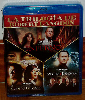 The Code Da Vinci - Angeles And Hell-Inferno 3 Blu-Ray New New (Unopened) R2