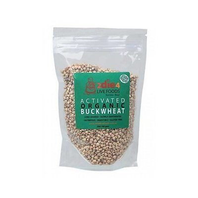 2DIE4 LIVE FOODS Activated Organic Buckwheat 180 grams