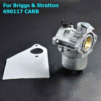 New Carburetor Carb Kit For Briggs & Stratton 690117 Engines Replacement Accs
