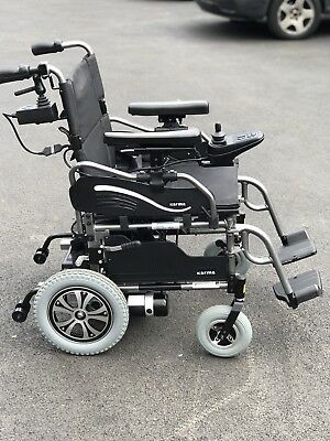 KARMA FALCON 4MPH Electric Mobility Wheelchair Powerchair Scooter Foldable