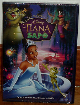 Tiana And The Frog Classic Disney Nº 51 Dvd New Sealed (Unopened) R2