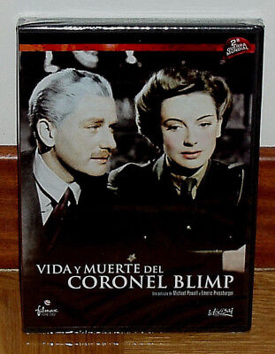 Vida And Death Of The Colonel Blimp - Dvd - New - Sealed - Belize - Classic