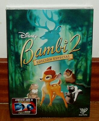 Bambi 2 Edition Special Dvd Disney Slipcover Sealed New (Unopened) R2