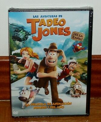 The Adventures Of Tadeo Jones - Dvd - Sealed - New - Animation - Aventuras