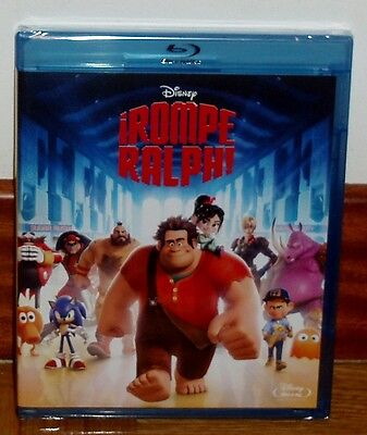 Rompe Ralph - Disney - Blu-Ray - New - Sealed - Classic Nº 54 - Animation