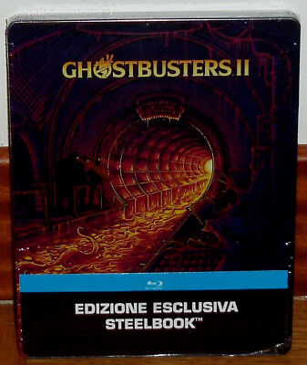 The Ghostbusters Ghostbusters Ii Blu-Ray Steelbook New Sealed (Unopened)