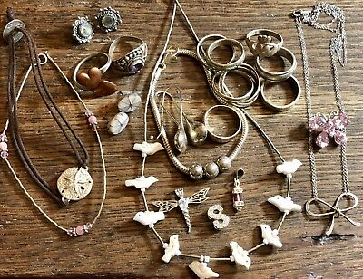 Assorted 925 Sterling Silver Jewelry All Marked & Wearable 72Gr Of Wear N Share