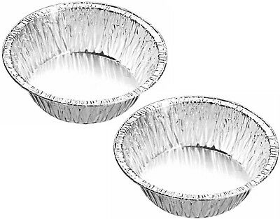 Quality Small Deep Foil Pie Dishes Case JamTart Patty Tins Round Dish Mince Bake
