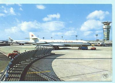 AIR INTER   Caravelle   Airline Postcard    (2)