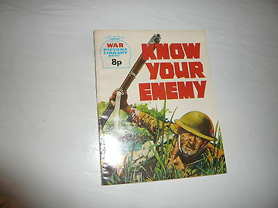 War Picture Library Comic Magazine No995 Know Your Enemy British Army WW2 WWII