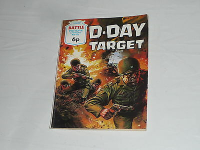 Battle Picture Library Comic Magazine No705 D Day Target Normandy US Army WW2