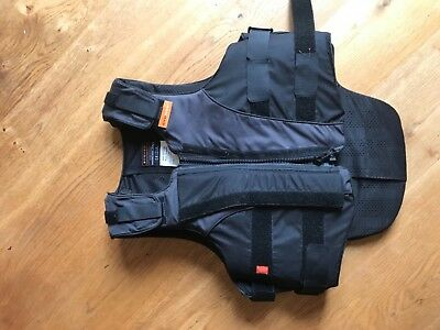 Airowear back protector,  L4, with shoulder pads, 3 years old