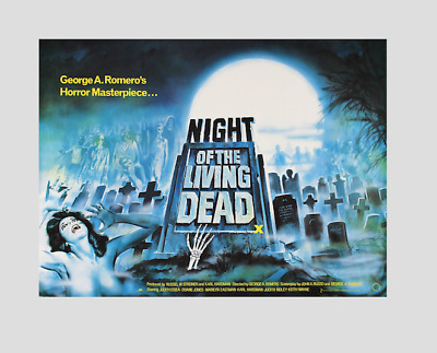 NIGHT OF THE LIVING DEAD !! 1968 ( George Romero ) ; quality print !
